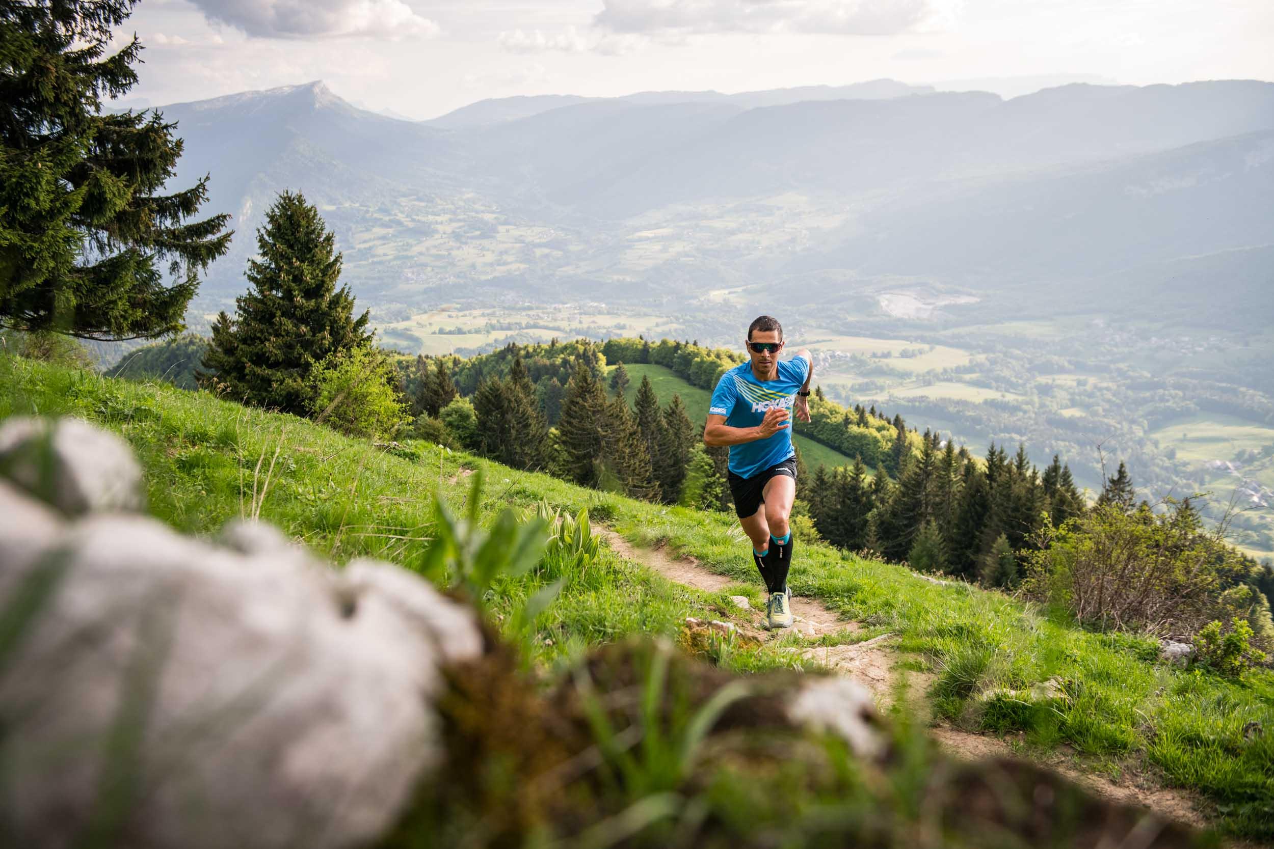 Julien Chorier Entraînement du trail